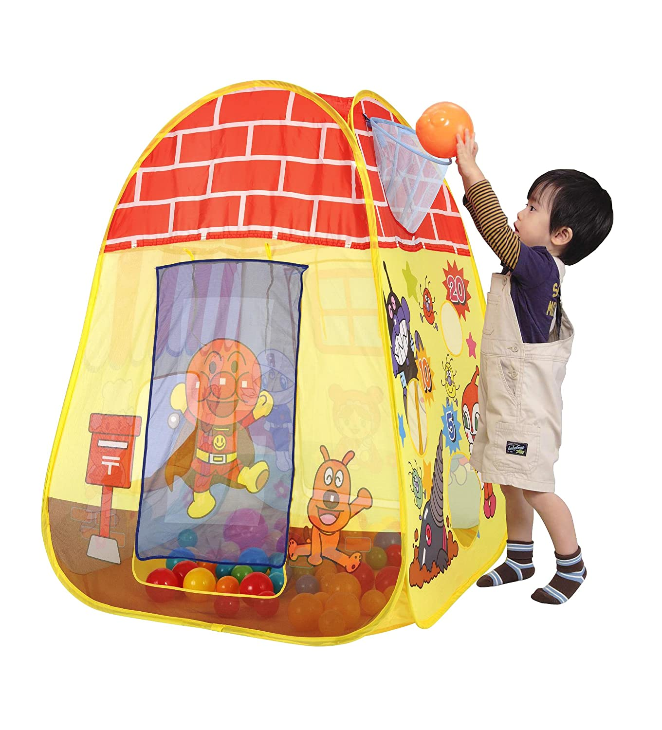 Anpanman Foldable Ball Tent (Japan) (japan import)