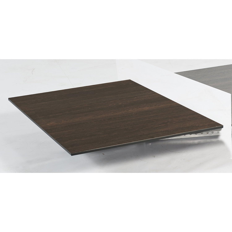 Sonnenpartner Tisch Base Gestell Alu anthrazit Platte HPL mali wenge 90 x 90 cm günstig kaufen