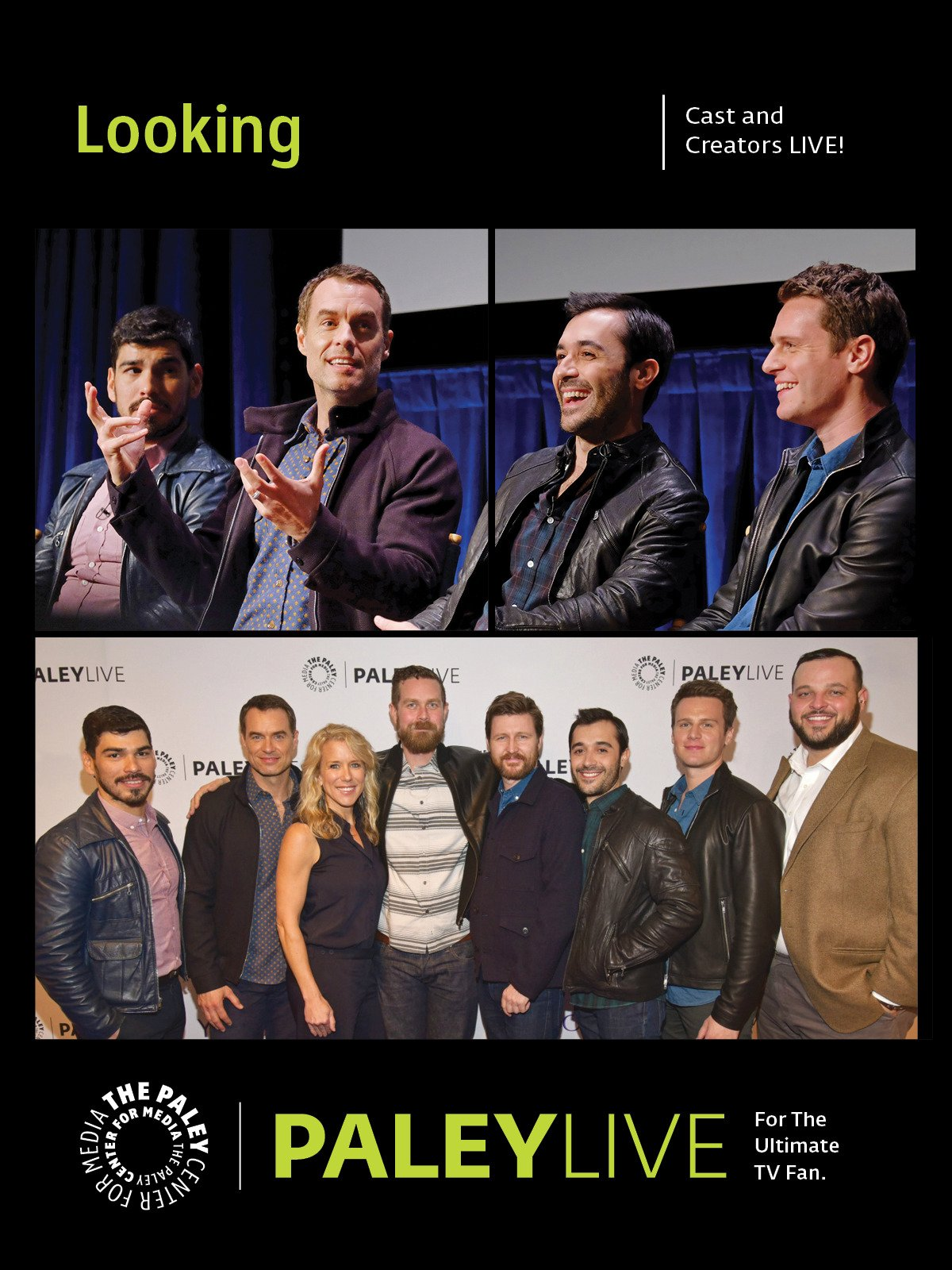 Looking: Cast and Creators PaleyLive