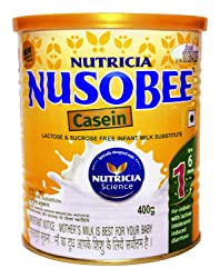 Nusobee Casein 1 Infant Formula Tin - 400 g