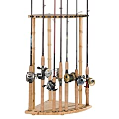 Organized Fishing 12 Rod pine corner rack