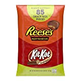HERSHEY'S Halloween Candy Assortment, Bulk Chocolate Candy, HERSHEY'S, REESE'S, and KIT KAT, 85 Pieces