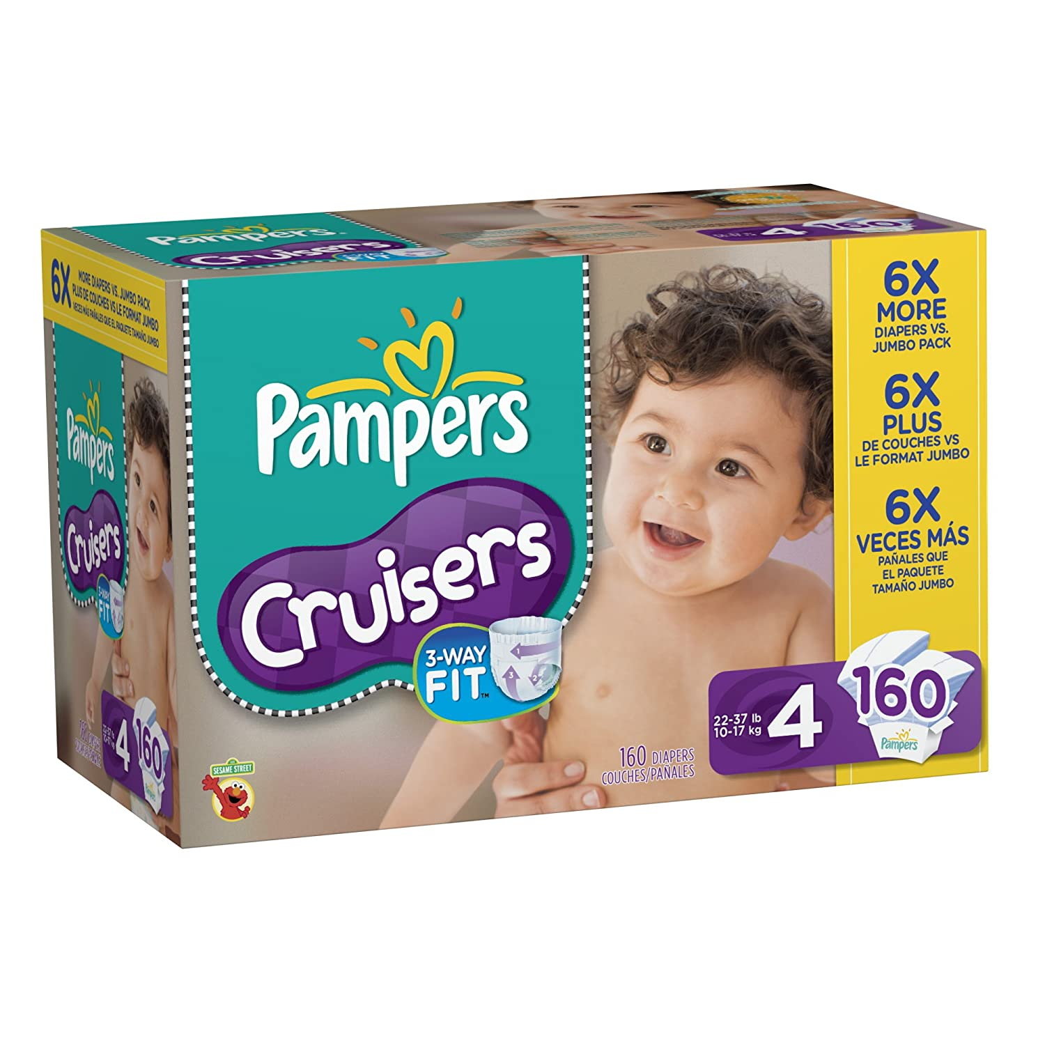 Amazon - Pampers Diapers Sale: 20% off, $2 off - from $34.79