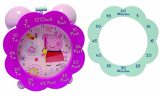 Time Teaching Alarm Clocks Peppa Pig Time Teaching Alarm