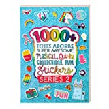 Fashion Angels 1000+ Totes Adorbs Super Awesome Stickers/ Sticker Book/ Cute Stickers (Color: Brown/a)
