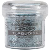 Ranger Embossing Powder, 1-Ounce Jar, Turquoise (Color: Turquoise)