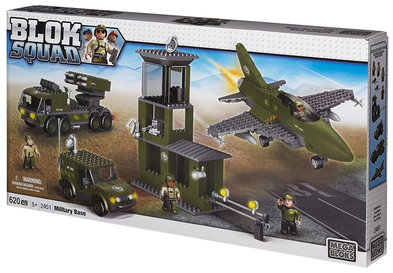 Mega Bloks 2451 – Blok Squad grosses Militär Bau und Spielset online kaufen