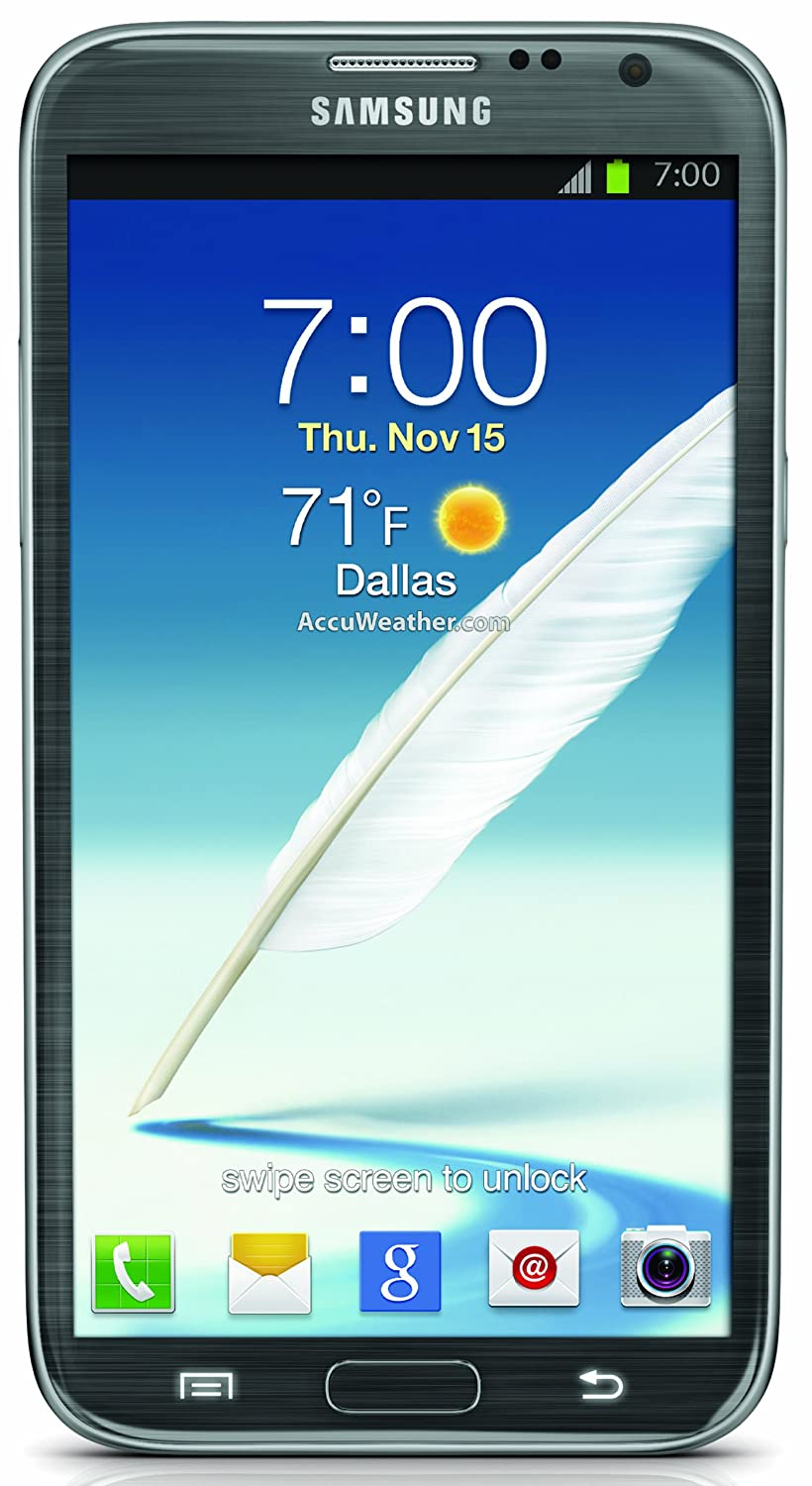 Samsung Galaxy Note II 4G Android Phone, Titanium (Sprint) $99.99