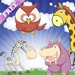 Ged�chtnisspiele im Zoo f�r Kleinkinder und Kinder: Entdecken Sie die Tiere und ihre Ger�usche! KOSTENLOSE