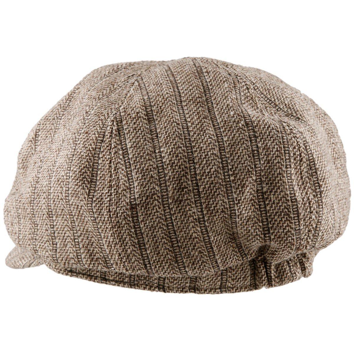Moonsix Newsboys Hats,Unisex Winter Berets Hat Woolen Cotton Cabbie Cap 3