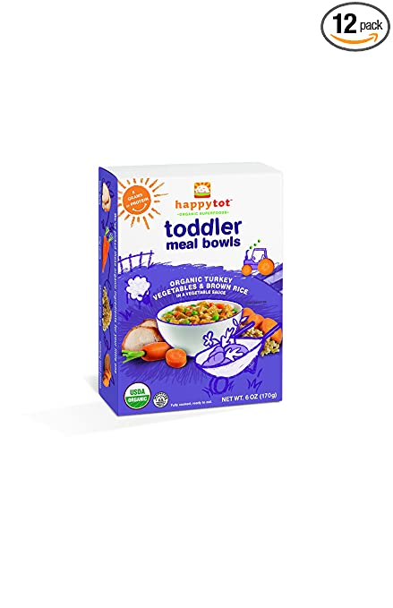 Rice Meals For Toddlers Happy Tot Toddler Meal Bowls
