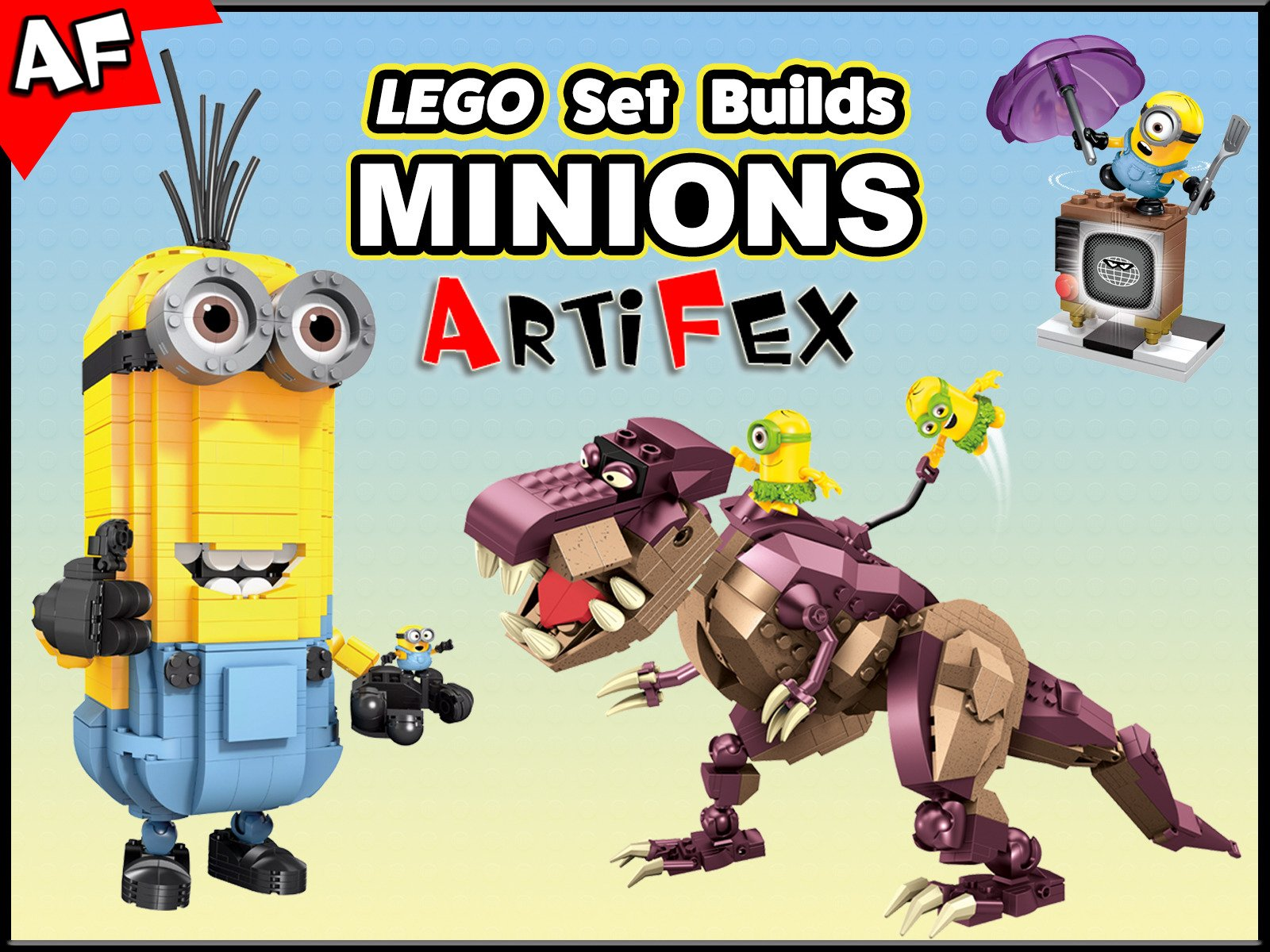 Clip: Lego Set Builds Minions - Season 1