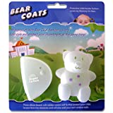 Mommy I'm Here CL606C Bear Coats Protective Fashion Covers Add Style and Protect Your Child Locator, Clear (Color: Clear)