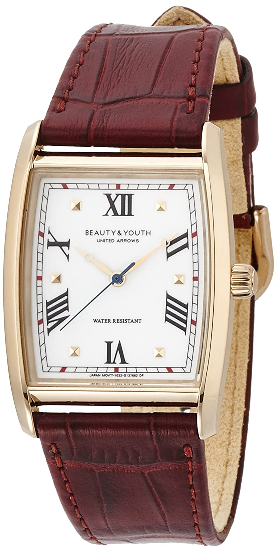 Amazon.co.jp: [ビューティーアンドユースユナイテッドアローズ] BEAUTY&YOUTH UNITED ARROWS BY レザー トノー 14436991034: 腕時計通販