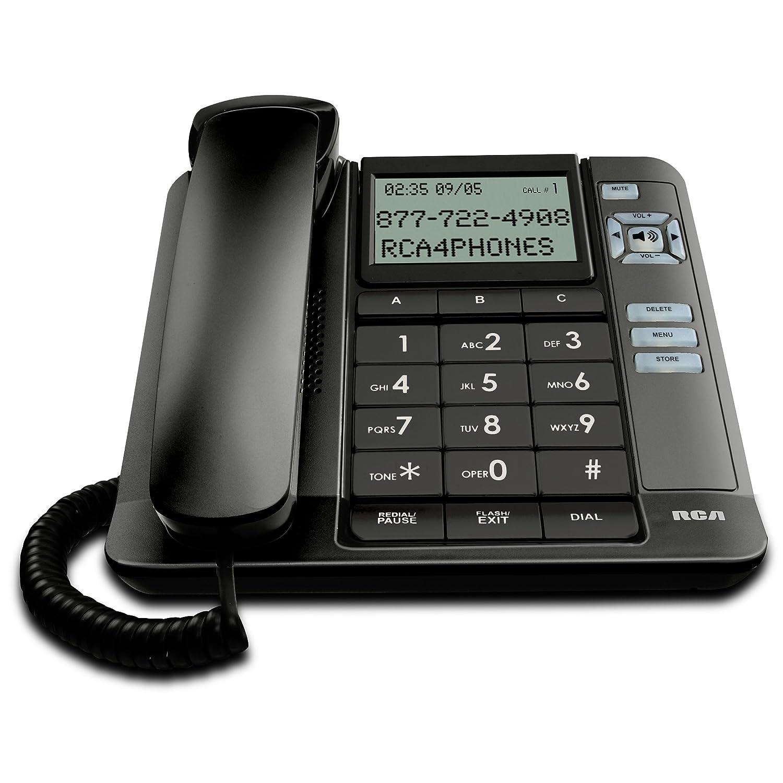 Landline Telephone Headset Desk Wall Mount Caller ID