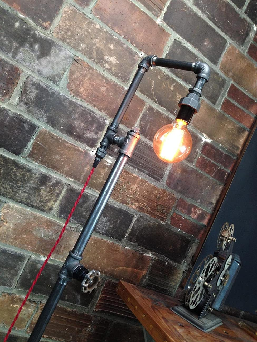 Edison Bulb Floor Lamp - Industrial Style Floor Lamp 0