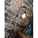 Edison Bulb Floor Lamp - Industrial Style Floor Lamp