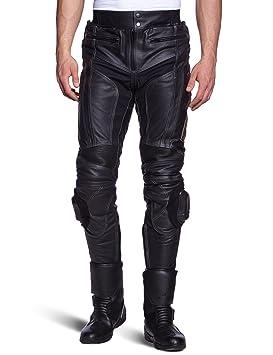 WMT - 401 Pantalon de moto en cuir Noir