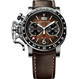 Brown Graham Watch Chronofighter Vintage GMT 2CVBC.C01A.L126S (Color: Brown)