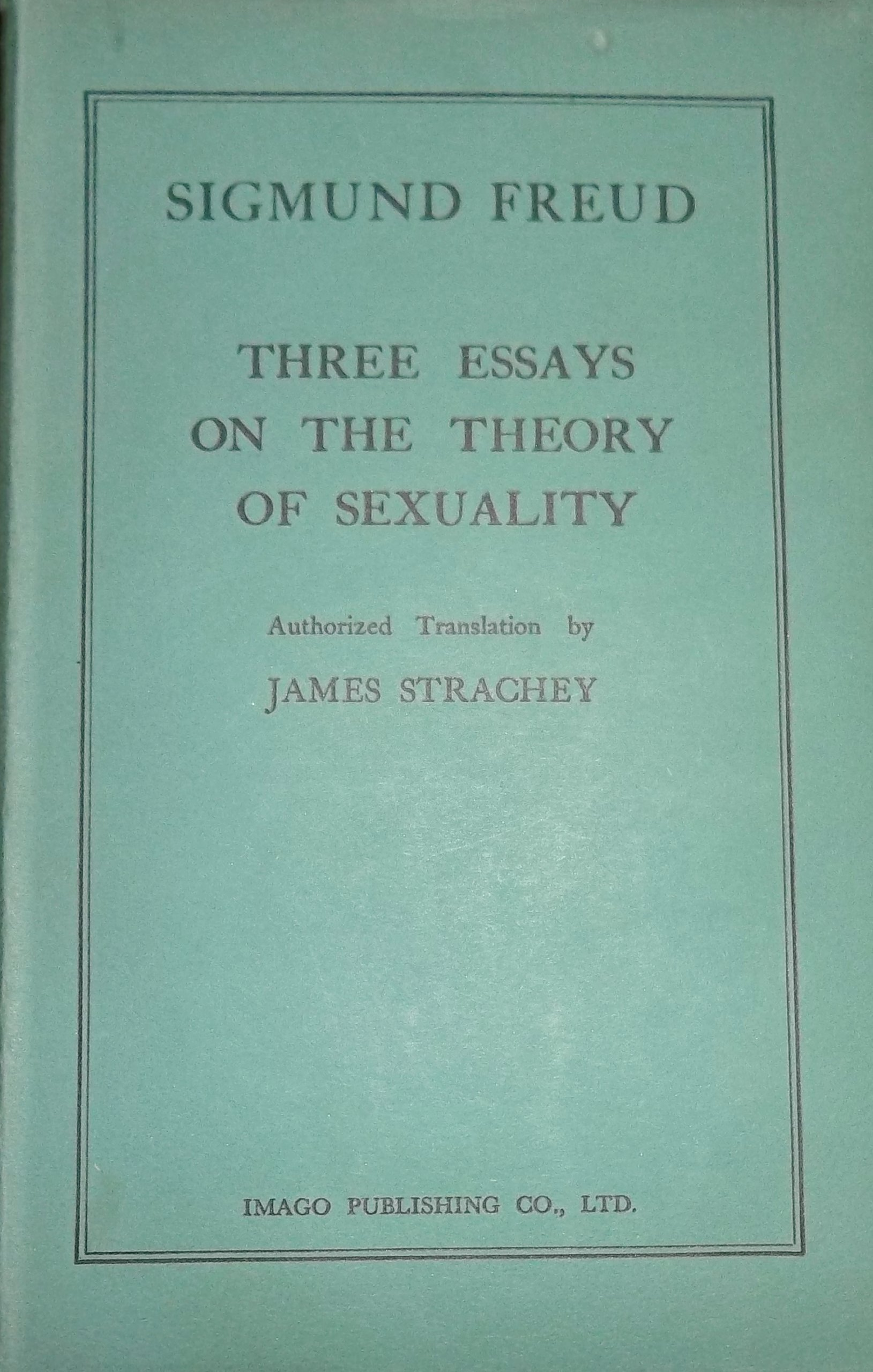 sigmund freud three essays on the theory of sexuality summary Sigmund freud - three essays on the theory of sexuality - summary sigmund  freud is famous and infamous for introducing a sexuality based.