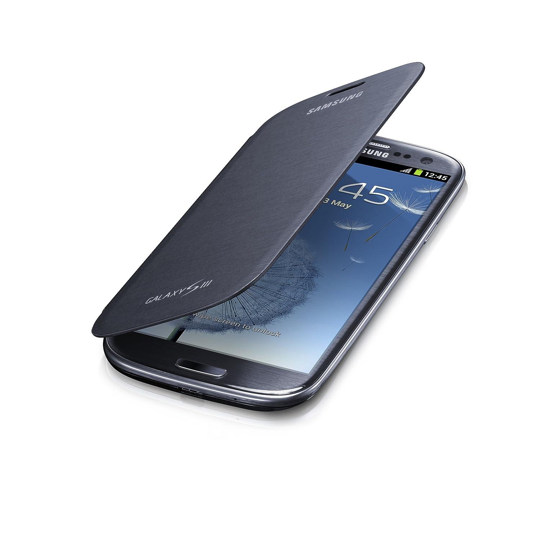 Bingua Com Samsung Flip Cover Case For Samsung Galaxy S3 Pebble Blue