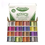 Crayola Classpack Assortment, 800 Regular Size Crayons, 16 Different Colors (50 Each), Great for Classroom, Educational, All-Purpose Art Tools (Color: Red, Tamaño: Standard)