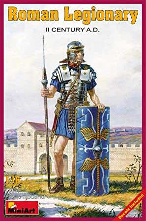 MiniArt 16007 Roman Legionary IIC AD 1:16 Plastic Kit