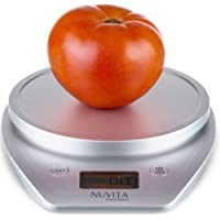 Nuvita Multifunction Digital Kitchen and Food Scale with Stainless Steel Platform