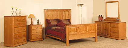 Forest Designs Traditional Oak Three Drawer Nightstand: 25W x 30H x 18D (No Bed, Dresser, Mirror, Chest or Nightstand) 25w x 30h x 18d Black Alder