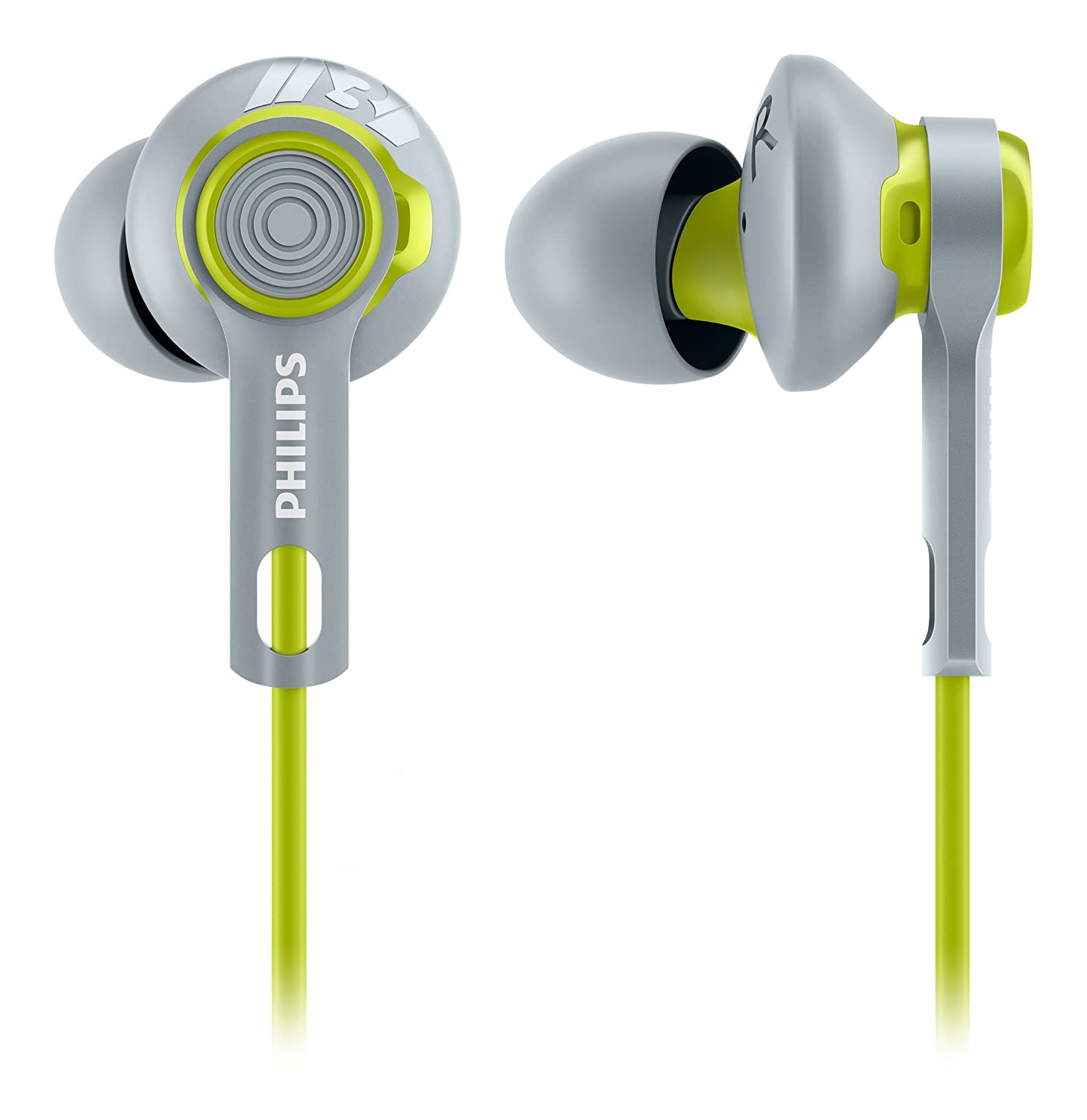 Image result for PHILIPS WIRED ACTION FIT EARPHONE SHQ2300