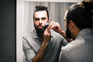 The Cut Buddy As Seen On Shark Tank - Multiple Curve Trim & Shaping Guide for Hairline, Beard, Goatee, Mustache, Neck, Sideburn (Color: Black, Silver, Clear)