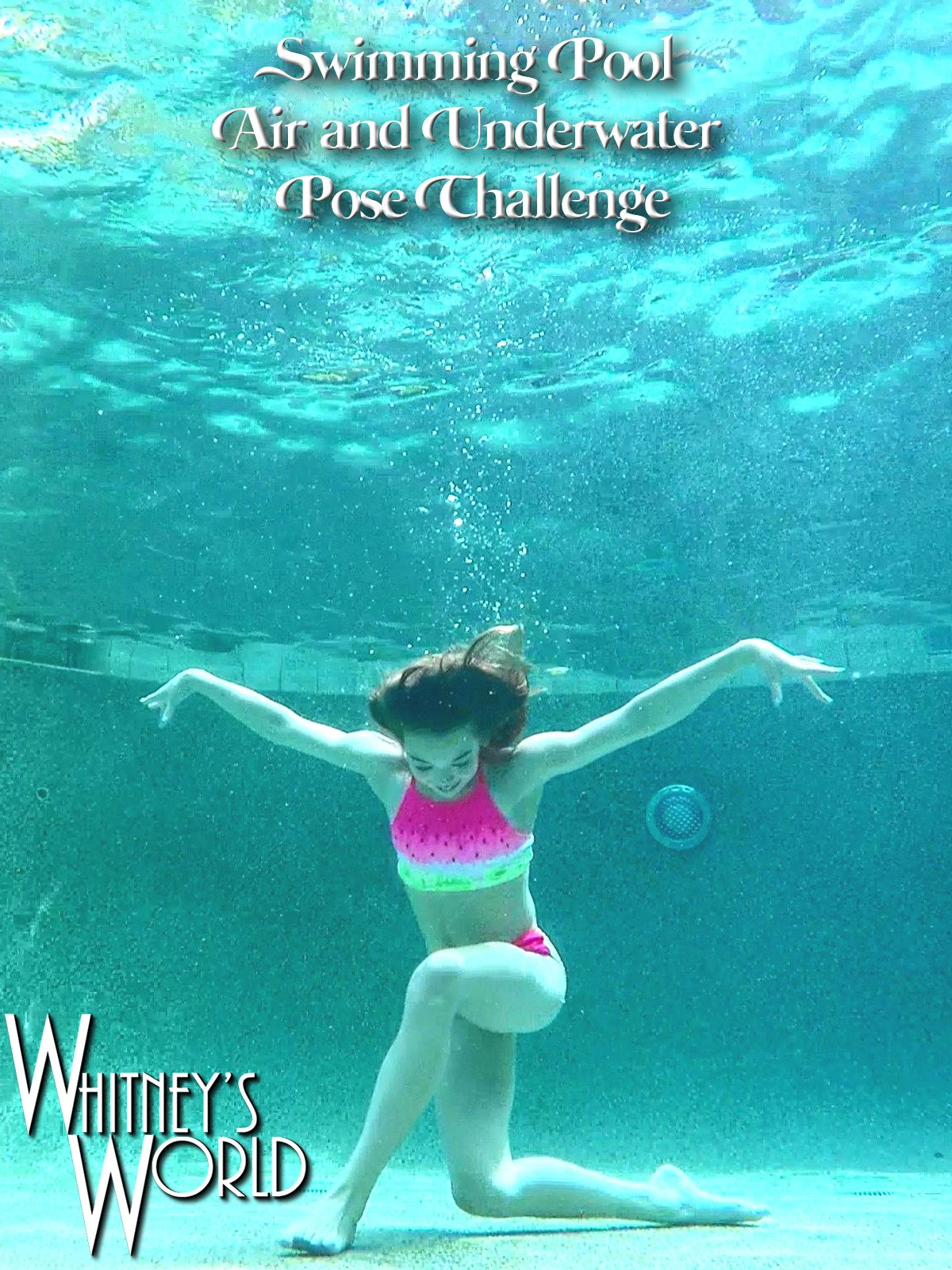 Swimming Pool Air and Underwater Pose Challenge on Amazon Prime Instant Video UK