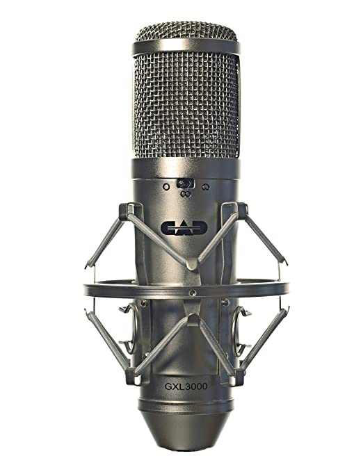 CAD GXL3000 Multi-pattern Condenser Microphone, Champagne at amazon
