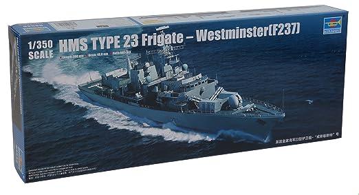 Maquette bateau : Frégate Britannique Type 23 HMS Westminster (F237)