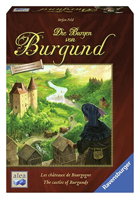 Ravensburger - 26914 - Jeux de Stratégie - Les châteaux de Bourgogne
