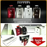 Ferrari the Essence Collection 4 Bottles Gift Set Edp 3.3oz (See Description)