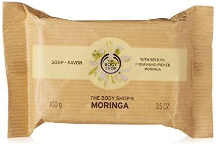 The Body Shop Moringa Soap, 100g at amazon