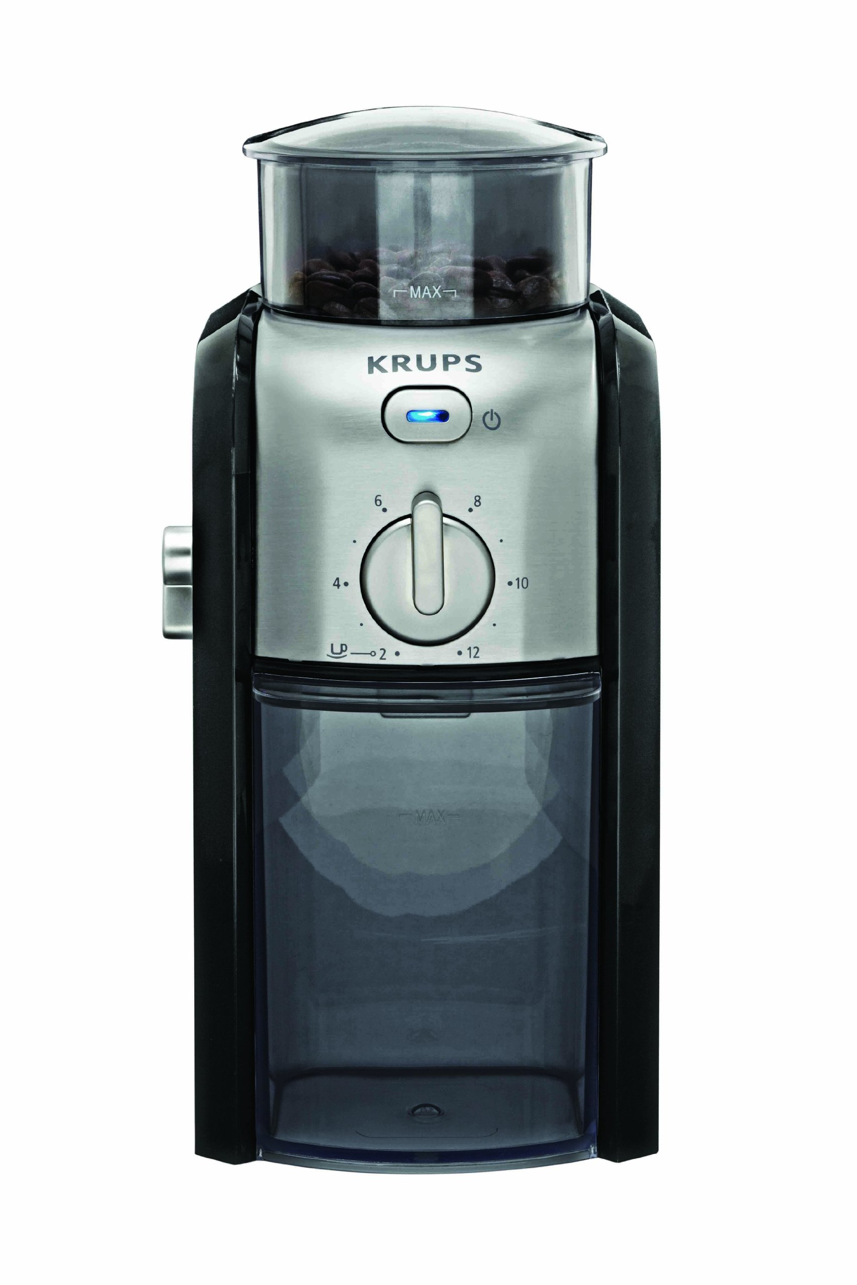 KRUPS GVX212 Coffee Grinder with Grind Size and Cup Selection and Stainless S... eBay