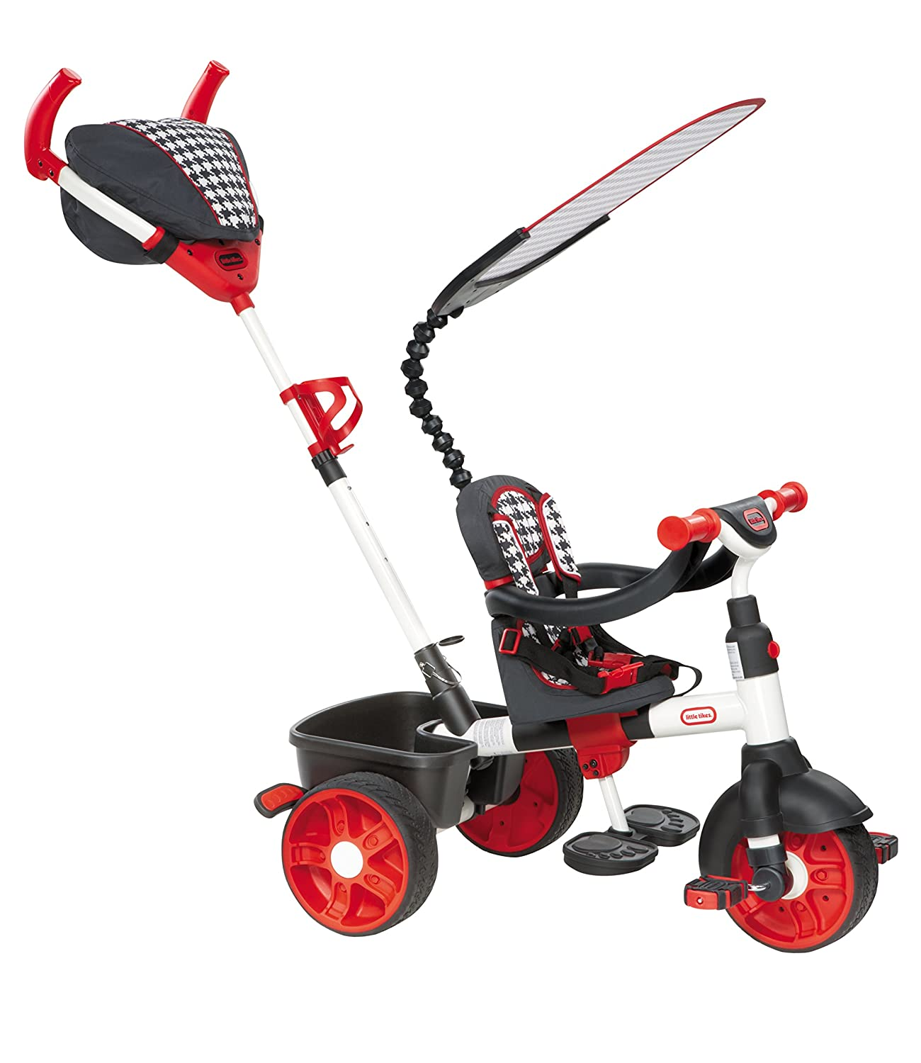 Little Tikes 634345E4 – 4-in-1 Sports Edition Trike, rot/weiß online bestellen