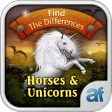 Find the Difference: Horses And Unicorns