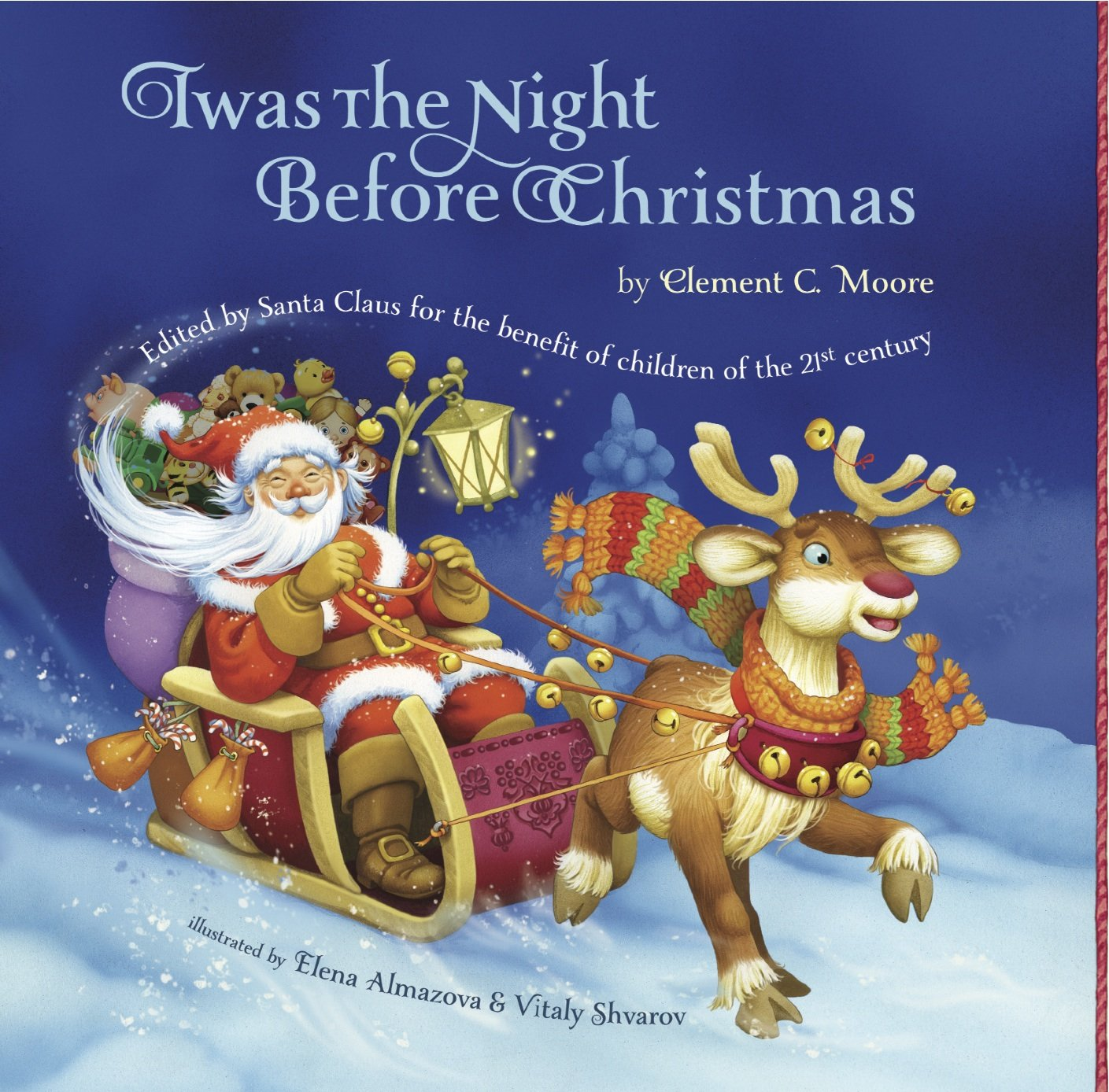 Twas the night before christmas book images