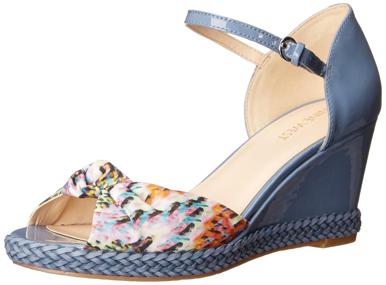 Nine West Women's Janelayne Fabric Wedge Sandal туфли nine west nwomaja 2015 1590