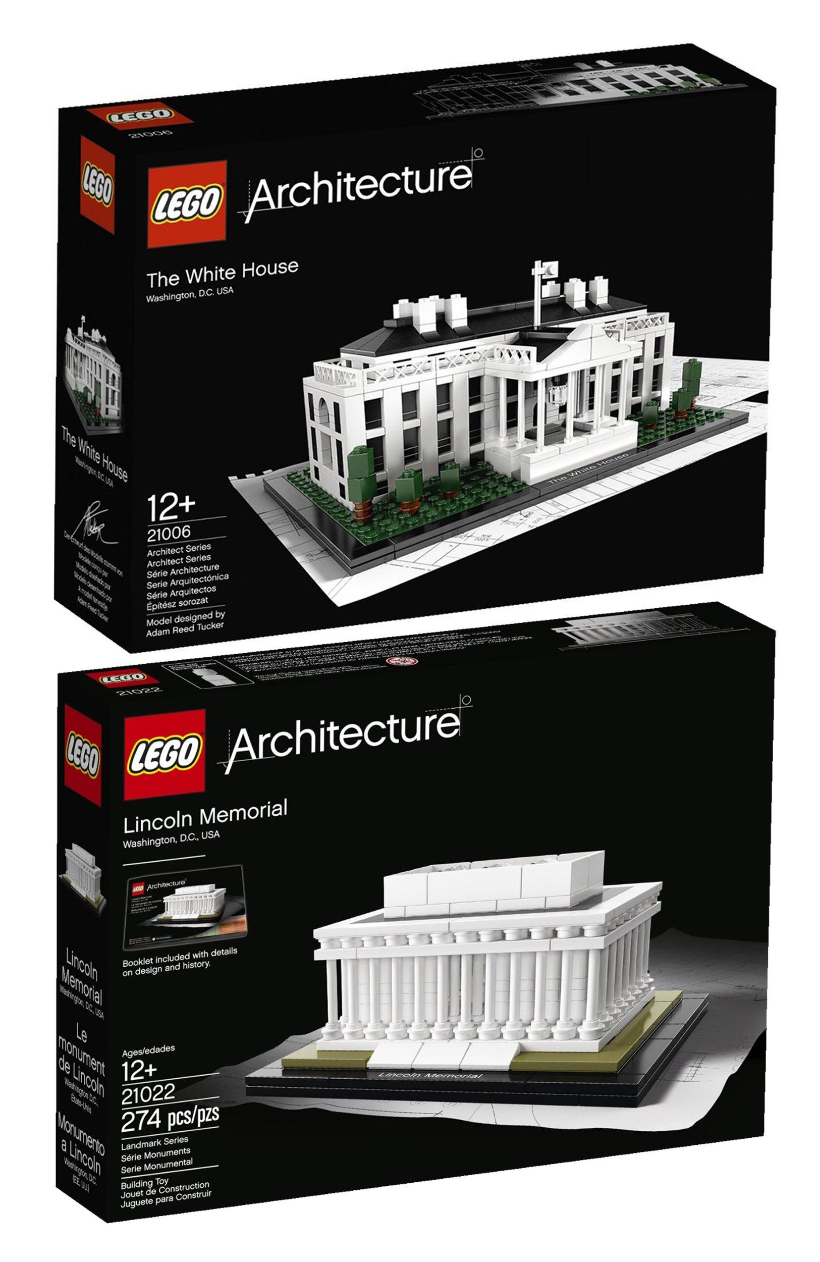 Lego Architecture White House 21006: Lego Architecture Bundle White House 21006 And Lincoln
