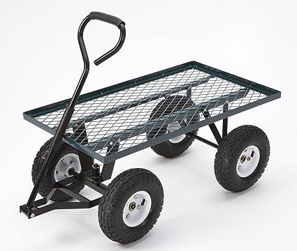 Landscape Fabric Or Mulch Small Garden Utility Cart