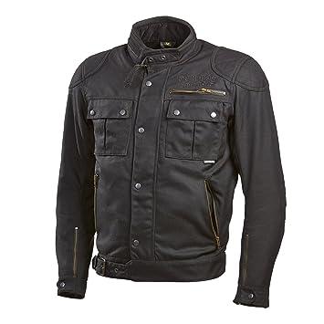 Germas 657. 01-62-5XL veste backstage vollausgestattet design classique pour moto noir, taille :  5XL