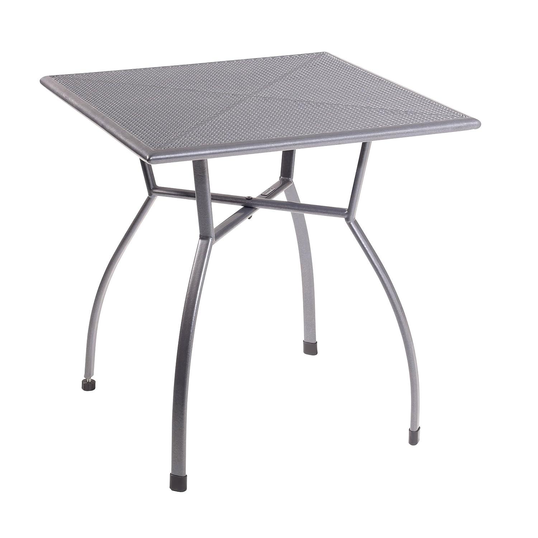 Greemotion Tisch Toulouse, eisengrau, Artikelmaße: ca. 70 x 70 Höhe: ca. 72 cm