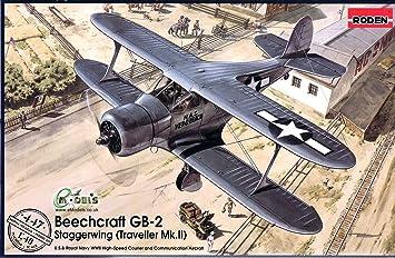 "Maquette avion: Beechcraft GB-2 ""Traveller"" Mk.II"