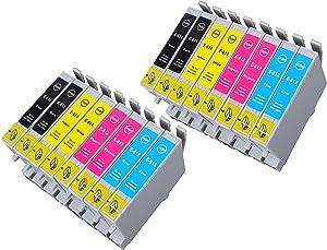 16 Multipack de alta capacidad Epson T0615 Cartuchos Compatibles 4 negro, 4 ciano, 4 magenta, 4 amarillo para Epson Stylus D68, Stylus D88, Stylus D88+, Stylus DX3800, Stylus DX3850, Stylus DX4200, Stylus DX4800, Stylus DX4850. Cartucho de tinta . T0611 , T0612 , T0613 , T0614 , TO611 , TO612 , TO613 , TO614 © 123 Cartucho  Oficina y papelería Comentarios y descripción más
