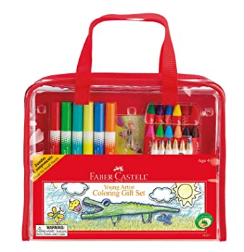 Buy Faber-Castell - Young Artist Coloring Gift Set - Premium Art ...
