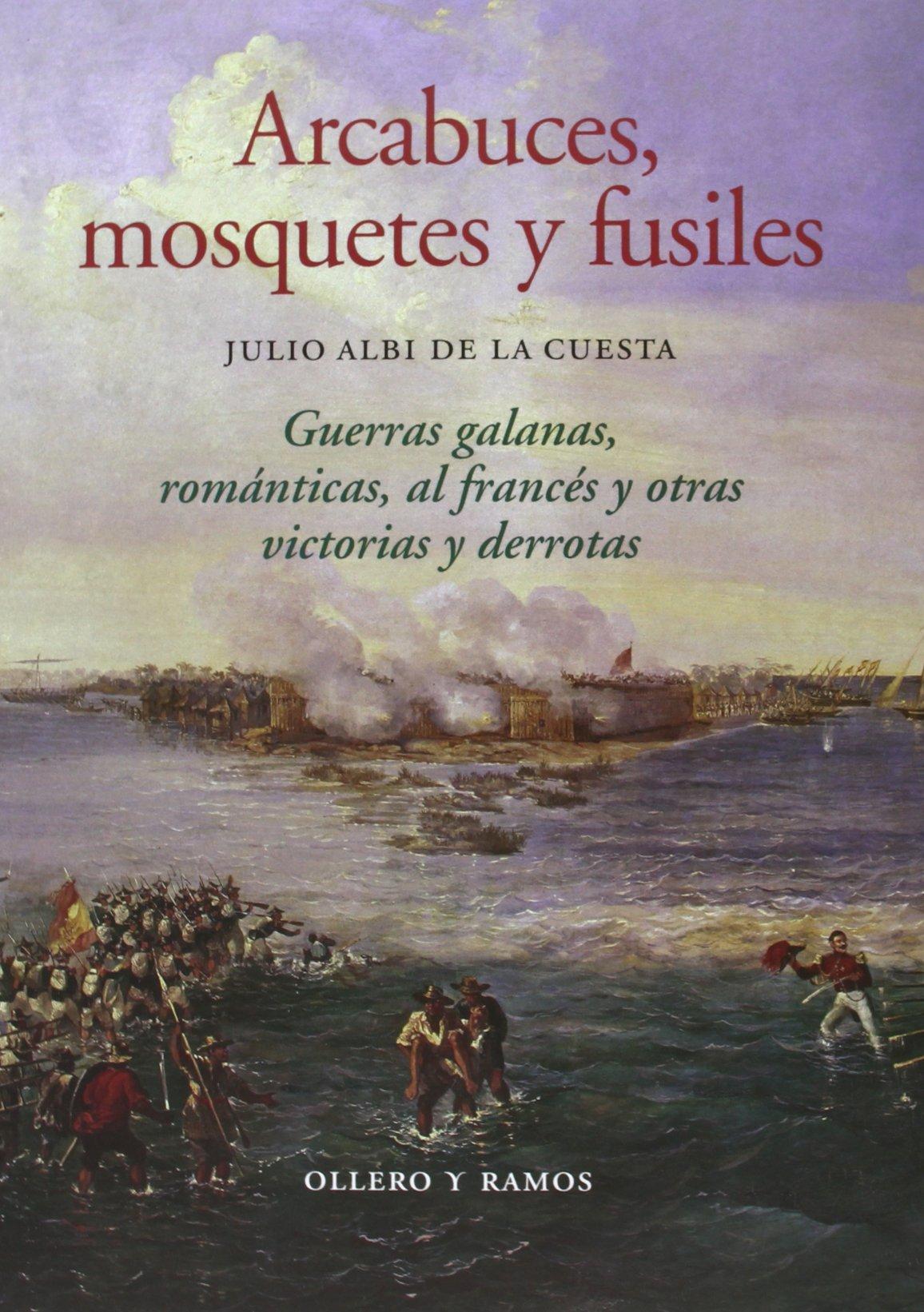 Arcabuces, mosquetes y fusiles: Guerras galanas, románticas, al francés y otras victorias y derrotas, de Julio Albi de la Cuesta
